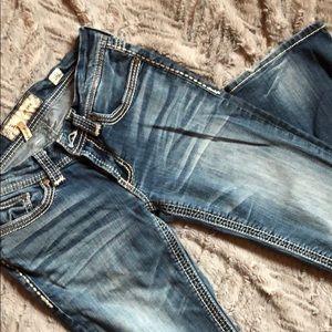 BKE denim jeans, bootcut
